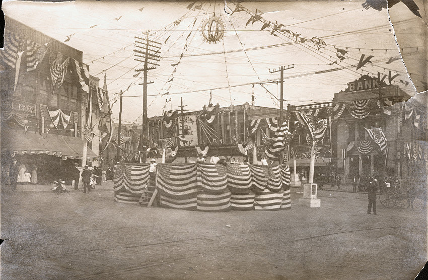 Providence Square 1913 Old Home Week