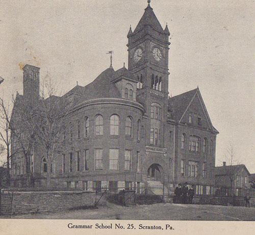 The Number 25 School on School Street